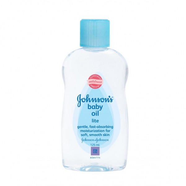 JOHNSON'S® Baby Oil Lite 125mL