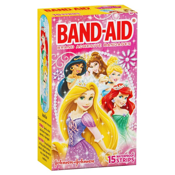 BAND-AID® Brand Character Strips Disney Princesses 15