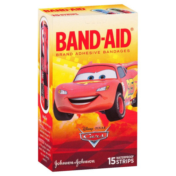 BAND-AID® Brand Character Strips Cars 15