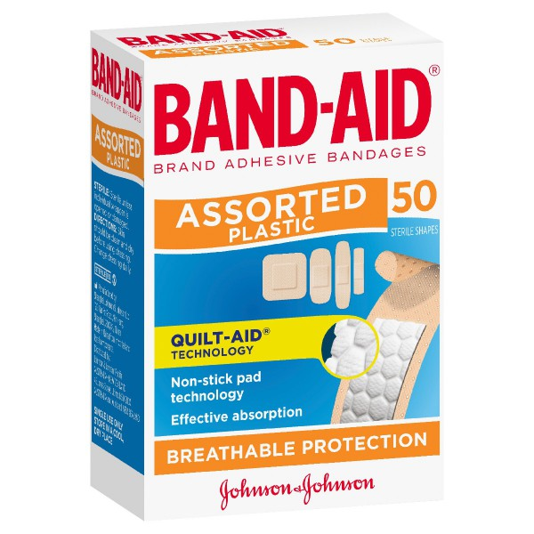 BAND-AID® Brand Assorted Shapes 50