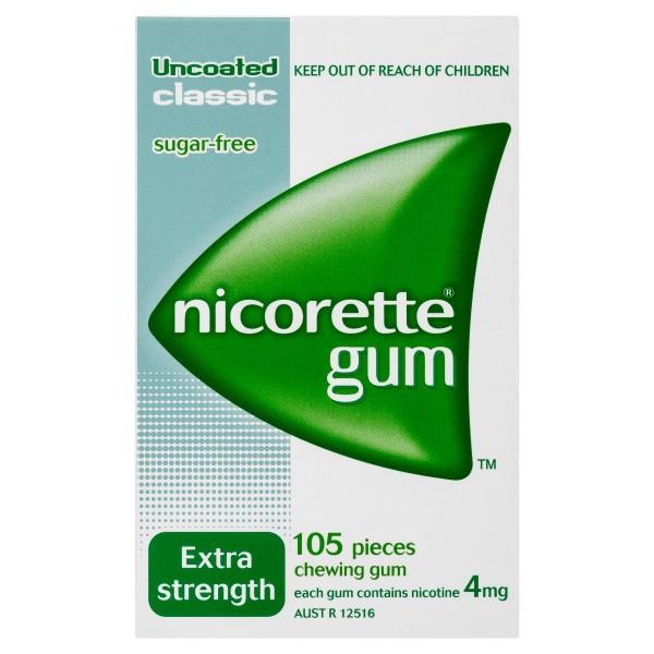NICORETTE® Gum Classic 4mg 105