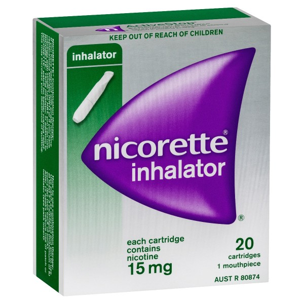 NICORETTE® Inhalator 15mg 20
