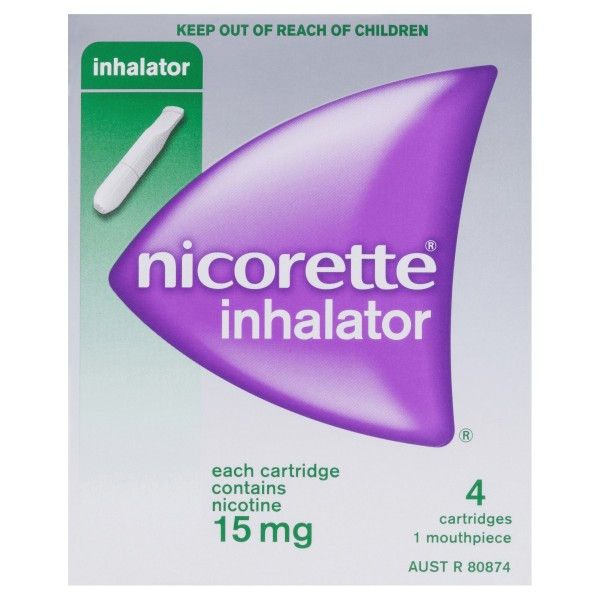 NICORETTE® Inhalator 15mg 4