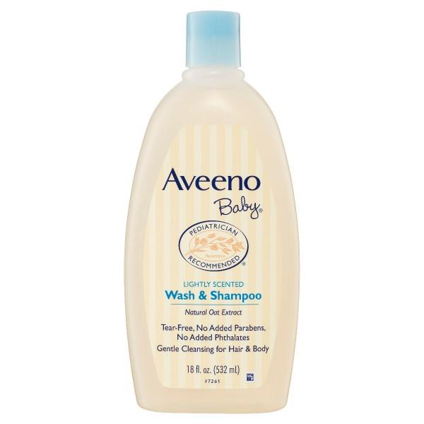 AVEENO® Baby Wash & Shampoo 532mL