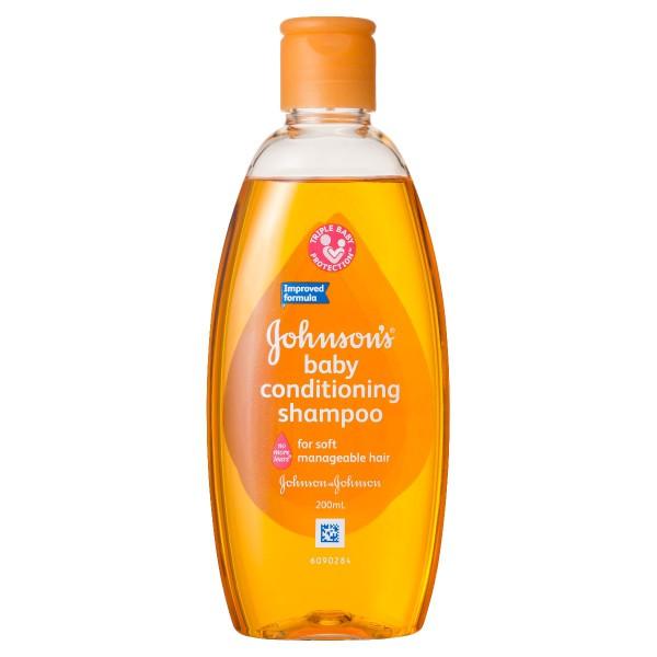JOHNSON'S® Baby Conditioning Shampoo 200mL