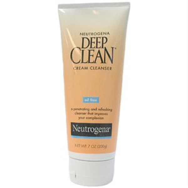 Neutrogena Deep Clean Cream Cleanser 200gm