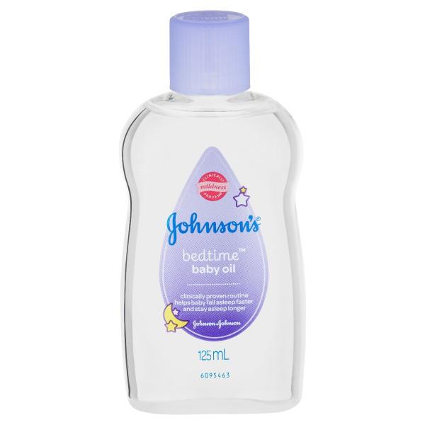 JOHNSON'S® Baby Bedtime Oil 125mL