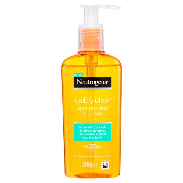 Neutrogena Visibly Clear Spot Proofing Daily Wash 200ML (bundle of 3)