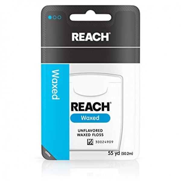 Listerine Reach Floss Waxed 50m (bundle of 6)