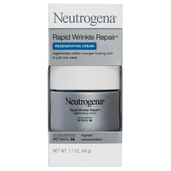Neutrogena Rapid Wrinkle Repair Regenerating Cream 48g (bundle of 2)